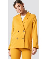 NA-KD - Oversized Double Breasted Blazer - Lyst
