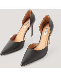 NA-KD Shoes Pumps Met Hoge Hakken En Uitsparingen - Zwart