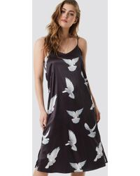 7551f21d7e2 Free People Mia Embroidered Dress in Blue - Lyst