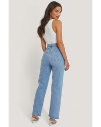Levi's Levi's Pantalon Droit Taille Haute Longueur Cheville - Bleu