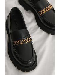 NA-KD Laag Chunky Laarzen - Zwart