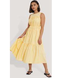 Trendyol Midi-jurk - Geel