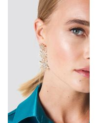 NA-KD - Hanging Sparkling Stars Earrings - Lyst