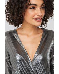 Trendyol Binding Detailed Polished Mini Dress - Meerkleurig