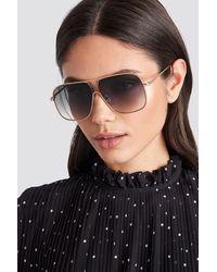 Mango Black Double Sunglasses