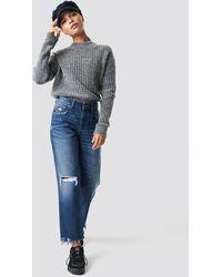 Cheap Monday Blue Revive Blue Oxide Jeans