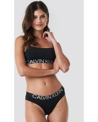 Calvin Klein Bikini Black - Schwarz