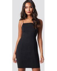 NA-KD - Thin Strap Bodycon Dress - Lyst