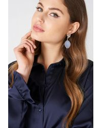 NA-KD - Coloured Crystal Drop Earrings - Lyst
