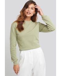 NA-KD Basic Basic Sweater - Grün