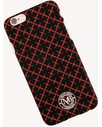 By Malene Birger Pamsy Iphone 6 Case Black - Red