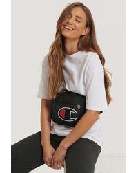 Champion Belt Bag Logo - Zwart