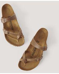 Birkenstock Slipper-Sandale - Braun