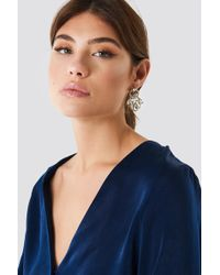 NA-KD - Cristal Marquise Rope Ring Earrings - Lyst