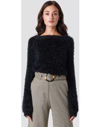 Rut&Circle - Feather Knit Black - Lyst