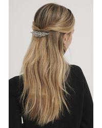 NA-KD Pince À Cheveux - Métallisé