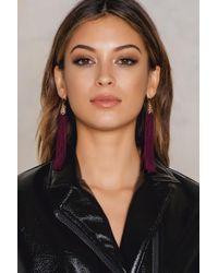 NA-KD - Hanging Tassels Earrings - Lyst