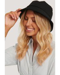 NA-KD Basic Bucket Hat - Zwart