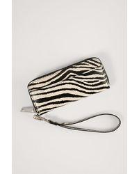 NA-KD Multicolour Slim Mini Wallet - Black