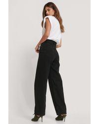Levi's Jeans Met Losse Pasvorm En Hoge Taille - Zwart
