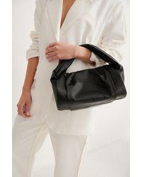 NA-KD Accessories Verzameld Handtas - Zwart