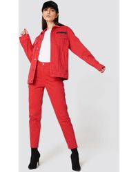 Cheap Monday - Donna Od Red Jeans - Lyst