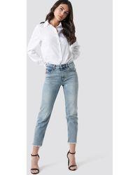 Cheap Monday Revive Hex Blue Jeans - Blauw
