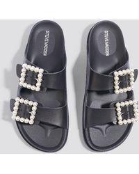 Steve Madden - Luxely Flat Sandal - Lyst