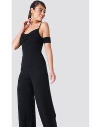 NA-KD - Cowl Neck Jumpsuit - Lyst
