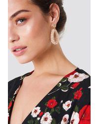 Trendyol - Saks Beads Detailed Earrings - Lyst