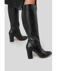 Trendyol Black High Boots