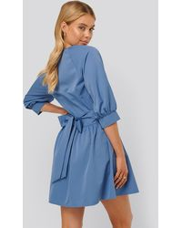 NA-KD Mini-jurk - Blauw
