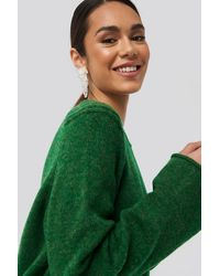 Trendyol Crew Neck Knitted Sweater - Groen