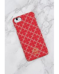 By Malene Birger Pamsy Iphone 7/8 Case - Red