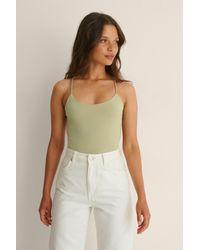 NA-KD Bodysuit - Groen