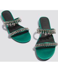 NA-KD - Embellished Slip-in Sandals - Lyst