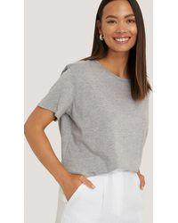 NA-KD - Basic Oversized T-shirt - Lyst
