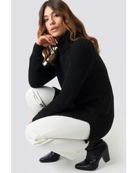 Trendyol - Long Knitted Sweater - Lyst