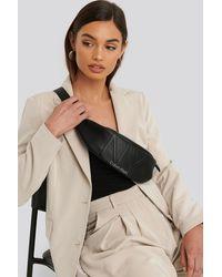 Calvin Klein Black Ny Shaped Waistbag Md