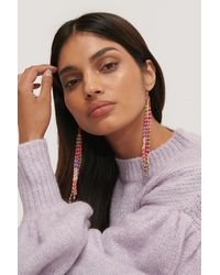 Mango Multicolour Fresia Earrings - Pink