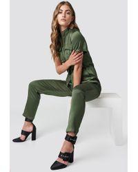 Glamorous - Shortsleeve Jumpsuit - Lyst