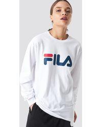 Fila Classic Pure Long Sleeve Shirt - Wit