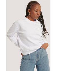 NA-KD White Basic Sweater