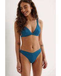 NA-KD - Swimwear Triangel-Bikini-Oberteil - Lyst