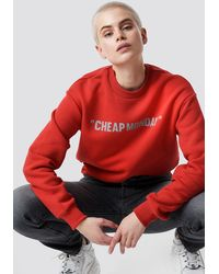 Cheap Monday Get Sweat Cheap Review - Rood
