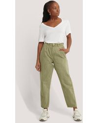 Mango Green Regina Jeans