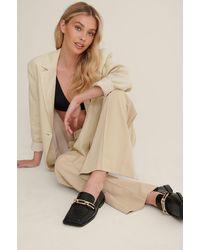 NA-KD Shoes Loafers - Zwart
