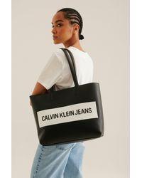 Calvin Klein Shopper Bag - Schwarz