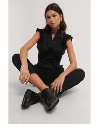 NA-KD Jumpsuit - Zwart