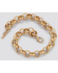 NA-KD Accessories Matte Chunky Chain Necklace - Mettallic